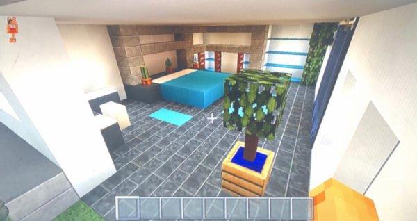Détente sur Minecraft