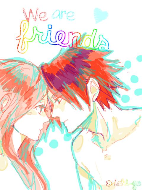 How to love your first friend *{ C h a p i t r e  X « Alors, on fait plutôt bien la paire, n'est-ce pas ? »