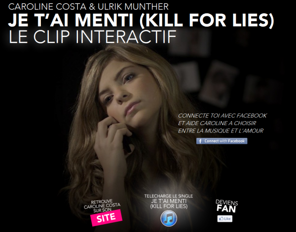 "Version acoustique + CLIP INTERACTIF ""Je t'ai menti"""