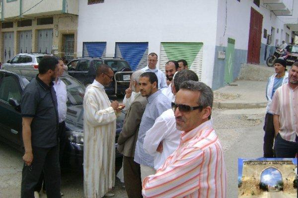 جولة ميدانية مع السيد رئيس الجماعة الحضرية بتطوان