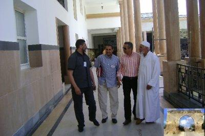 لقاء أعضاء جمعية جنان الخليفة مولاي الحسن بن المهدي مع والي صاحب الجلالة بولاية تطوان