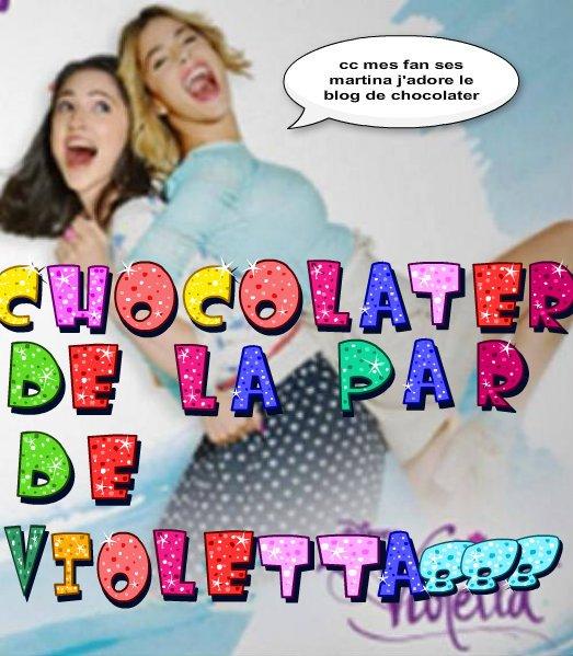 les 2 dernier montage pour chocolater vous les trouvé comment