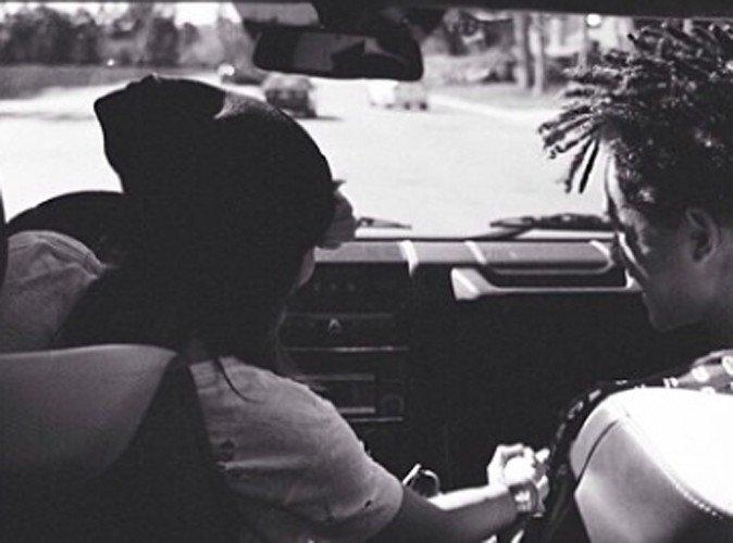 Jaden smith et kylie jenner main dans la main dans la voiture de kylie jenner ! amis ou plus ?