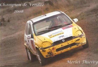 Thierry et son auto
