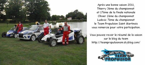Le TPSM remercie ses sponsors pour cette belle saison 2011