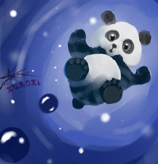 ✿ Dessin - Panda. ✿