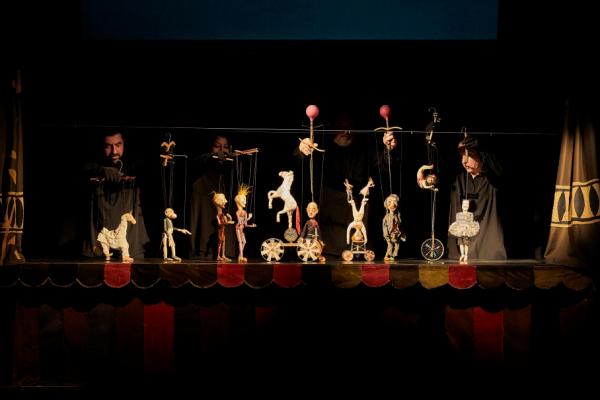 Une apparence d'un théâtre maladroit