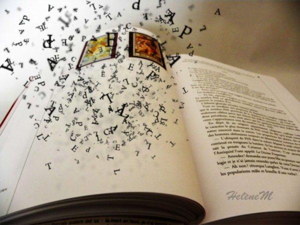 Une histoire écrite en des mots qui disparaissent