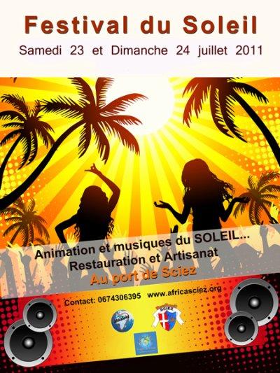Festival du Soleil 2011 ( 23 et 24 juillet) Au Port de SCIEZ