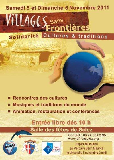 Samedi 5 et Dimanche 6  Novembre 2011  Centre d'Animation de Sciez, Haute-Savoie (74140)