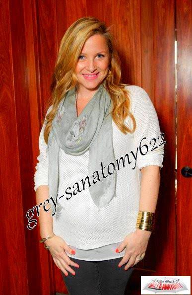 Jessica Capshaw enceinte de 6 mois!