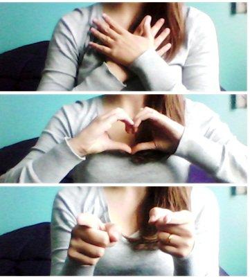 L'amour c'est beau, aimer et être aimer.