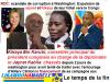 Jaynet kabila et Kikaya Bin karubi conseilleur spécial à la diplomatie de Kabila expulsés de Washington