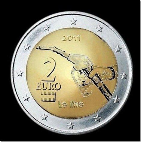La nouvelle pièce de deux euros