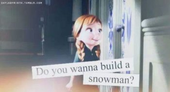 Je m'appelle Olaf et j'aime les gros câlins!