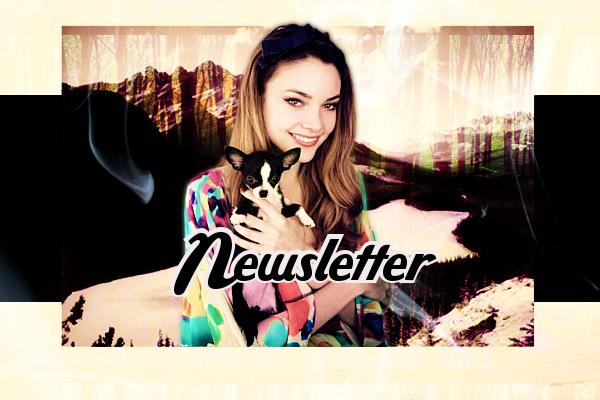 Newsletter ♥