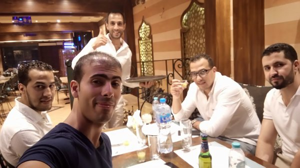 Zakariya, Hamza, Nabil - Abu Dhabi 2017