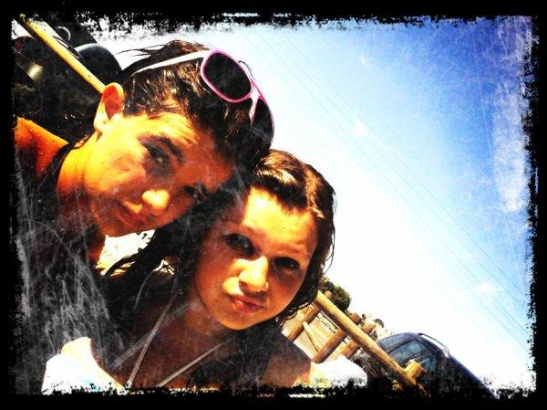 La plage avec la cousine :)