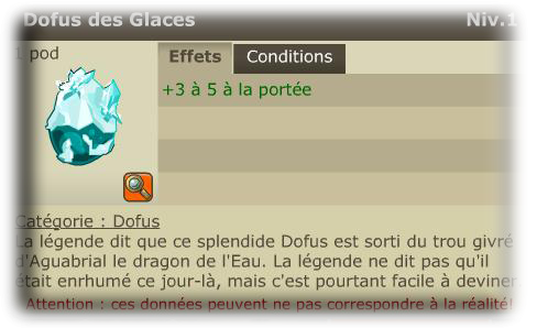 Les items 1.29/2.0