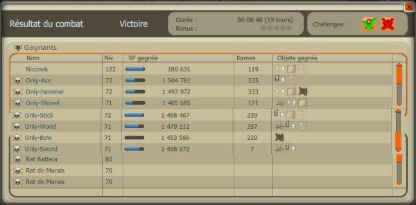 Team level 70