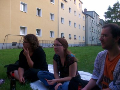 Visite de Yann et Agnès