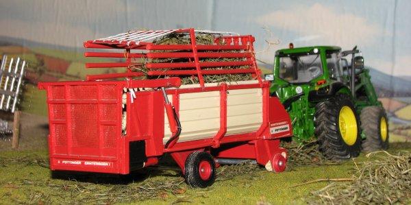 jd 6330 et la pottinger erntewagen 1 ( a vendre )