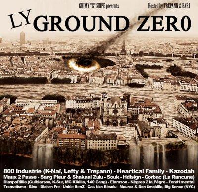 """L.Y GROUND ZERO - la mixtape rap lyonnais de Grimmy """"G"""" Snipe"""