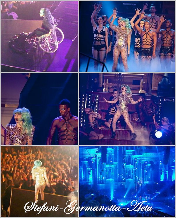 13/07/11 - Lady Gaga a performer pour le  Sydney Monster Hall en Australie . Comme c'était prévu , y'avait plusieurs mises en scène inédites et plusieurs changements de perruque . Le concert sera diffusé le 29 Juillet prochain à la TV australienne .