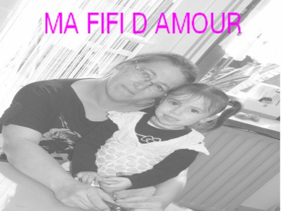 ME AND MY FIFI OF LOVE