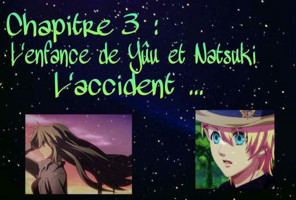 Natsukoi chapitre 3 : L'enfance de Yûu et Natsuki ! l'accident ...