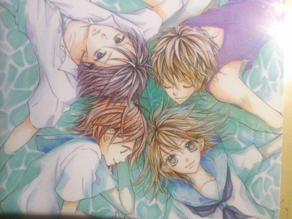 Blue de Kozue Chiba présentation des personnages