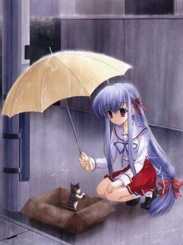 manga sous la pluis