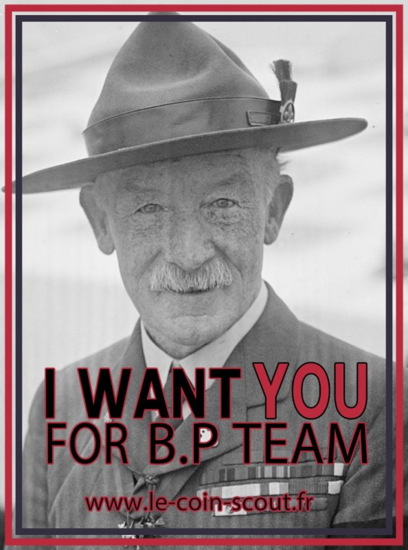 I Want YOU For B.P TEAM
