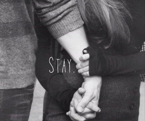 Reste avec moi.... Pitiez ne m'abandonne pas.