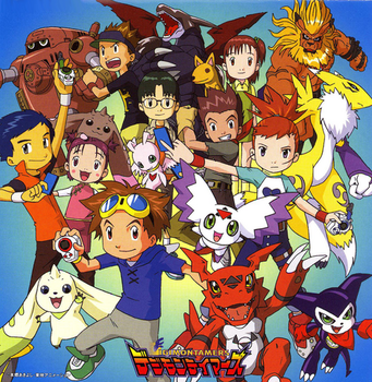 Liens Digimon Tamers