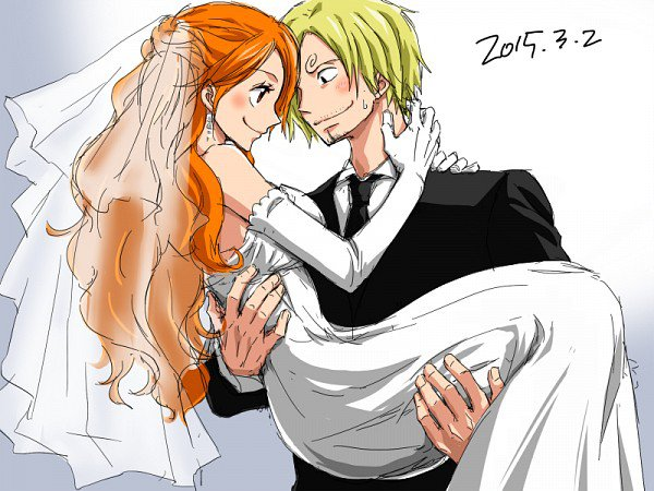Les couples one piece