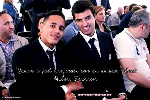 "ACTU - 29.05.2015 : Yoann Gourcuff. ""Yoann a fait une croix sur sa saison"", dixit Fournier"