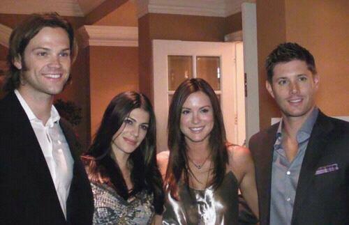 Jared, Genevieve, Danneel et Jensen