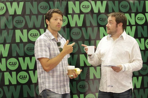 Misha Collins & Mark Sheppard