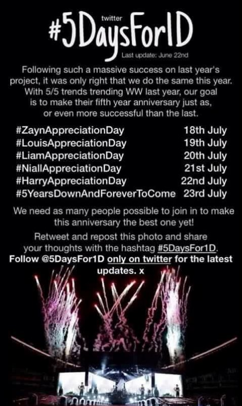 Projet #5DaysFor1D