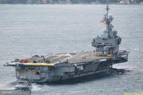 Le PA Charles de Gaulle en route pour l'océan Indien - 2 novembre 2010
