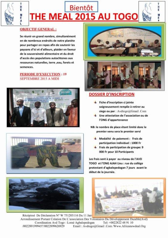 THE MEAL 2015 AU TOGO
