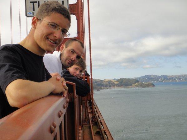 Visite du Golden Gate à pied