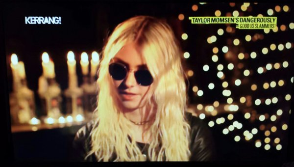 TAYLOR MOMSEN ON UK TELEVISION