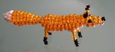 perle de rocaille renard