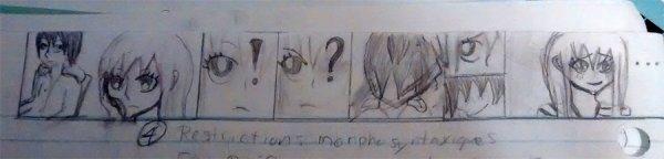 Doujinshi 03 : Lucy et Zereph ( bonus L'élève maudit )