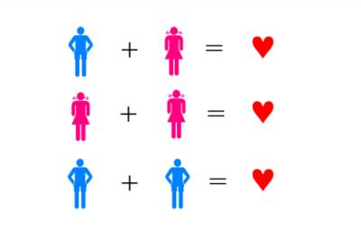 L'homosexualité n'est pas un choix...c'est le coeur qui décide. On aime un coeur & non un sexe. ♥