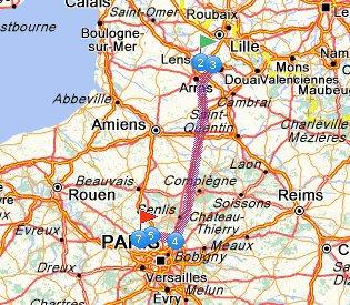 31 Juillet Pontoise 158.157Km