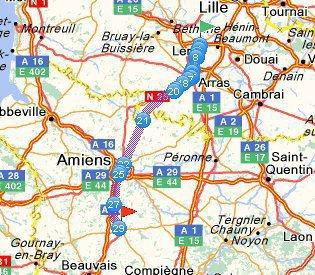 le 14 avril 2013  Breteuil  96.629 Km
