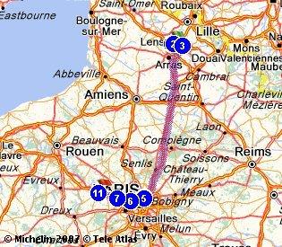 le  21 Avril 2013  Mantes la jolie  178.330 Km